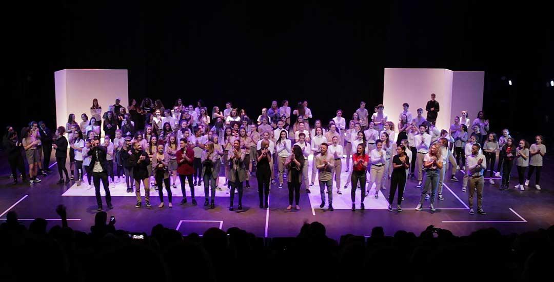 groupe élève Dance Attitud